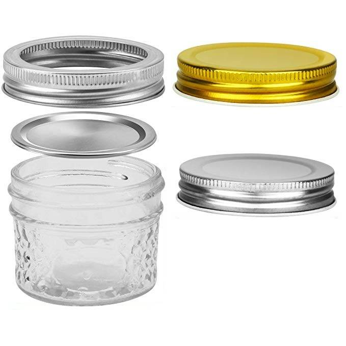 Wholesale 4oz Glass Mason Jar For Baby Foods