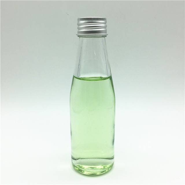 120ml 4oz mineral water soda water glass bottle with aluminum cover
