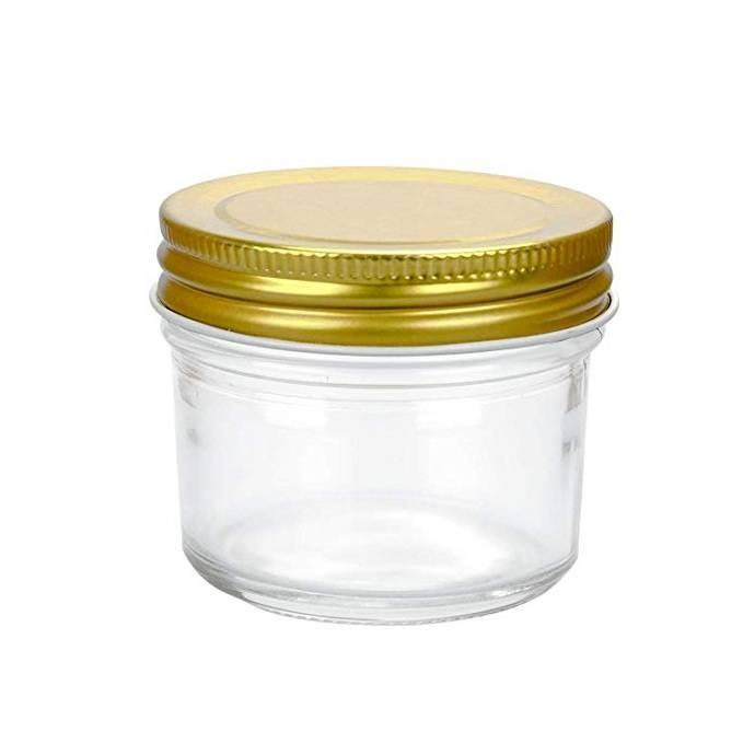 4oz Wide Mouth Mason Jars Glass Canning Jars For Kitchen Storage