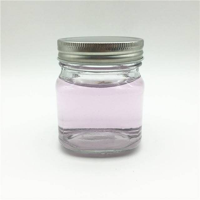 In stock 240ml 8oz square canning glass mason jar
