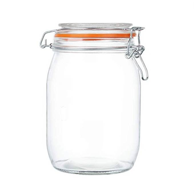 1000ML 32oz Glass Storage Jars For Kitchen Canisters