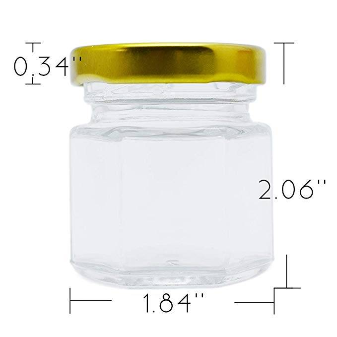 OEM Customized Pickle Glass Jar -