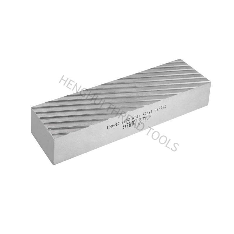 Alloy steel HSS 2020 High accuracy High quality Flat dies for thread rolling Factory hot sales Featured Image