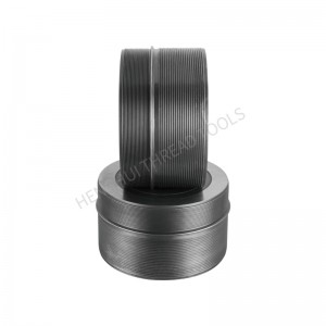 2020 High Quality M2 Material Cylindrical Thread Rolling Dies Railway Rivet For Stainless Steel Alloy Steel HSS  HTC009
