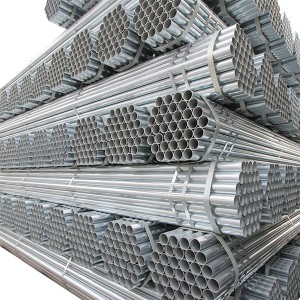 China Factory for Galvanised Pipe Price -