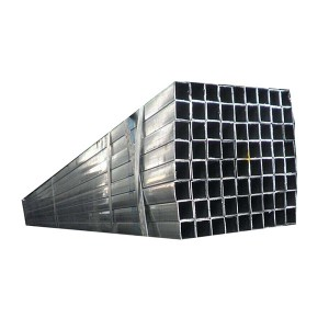 Galvanized Steel Pipe Square
