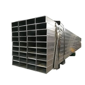Galvanized Steel Pipe Rectangular