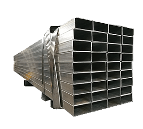 Galvanized Steel Rectangular ທໍ່