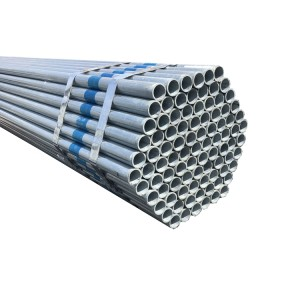 OEM Customized 2 Inch Galvanized Steel Pipe -