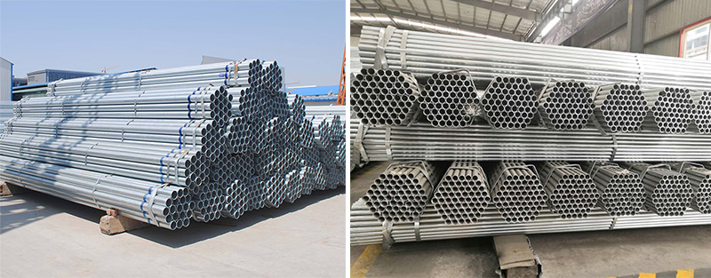 galvanized round pipe