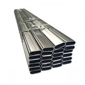 Galvanized Steel Oval Pipe