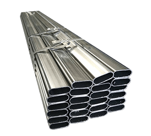 Galvanized Steel Pipe Oval