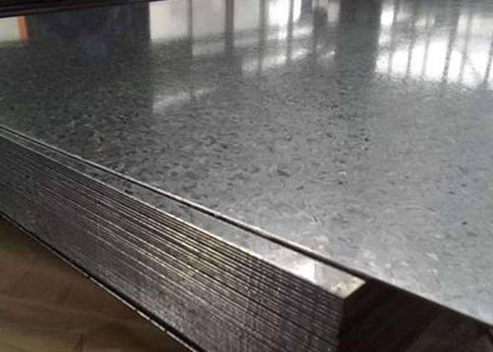 Classification of galvanized sheet