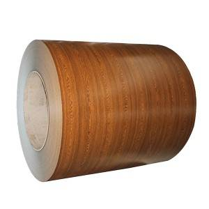 Popular Design for Galvanized Steel Sheet - Wood Grain PPGI Coil – Jialie