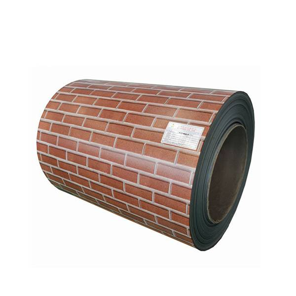 Manufacturer of Ppgi Sheet Manufacturers - Imitation Brick PPGI Coil – Jialie