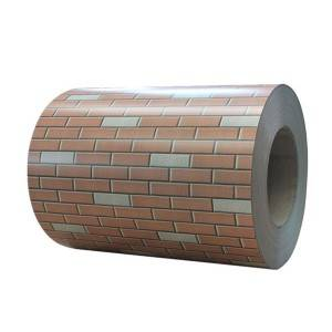 Wholesale Galvanised Corrugated Roofing Sheets - Imitation Brick PPGI Coil – Jialie