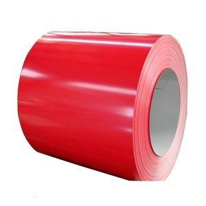 factory low price 22 Gauge Galvanized Steel Sheet - Pre-painted Galvanized Steel Coil – Jialie
