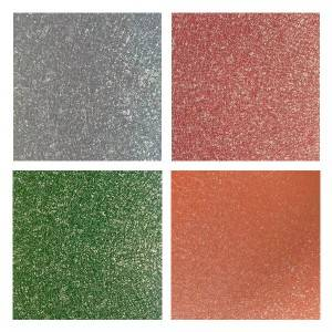 Free sample for Gi Sheet Types - Frosting Surface PPGI Sheet – Jialie