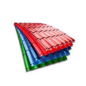 China wholesale Standard Size Corrugated Gi Sheet -