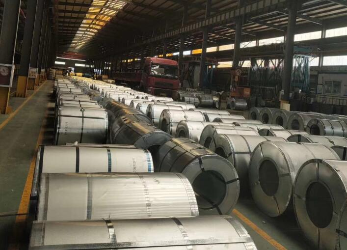 A new 600 Tons Galvanized Steel Coil Shipped.