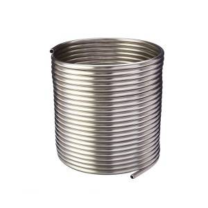Stainless Steel Coil Tube For Heat Exchanger/Boiler/Condenser/Super-heat