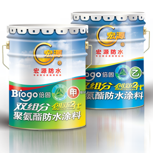 double component waterproof coating