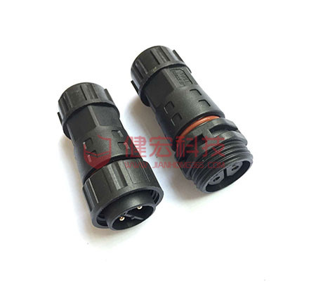 4 pin M20 front panel mount male female waterproof cable connectors for junction box Featured Image