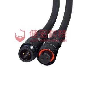 M10 Ip67 Connector Small Size Male Female Waterproof Cable 2 3 4 Pin Led Connector For Outdoor Lighting