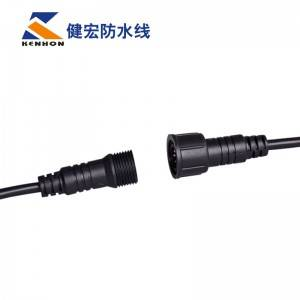 M18 2-8 core IP65-IP68 nylon waterproof cable plug nut