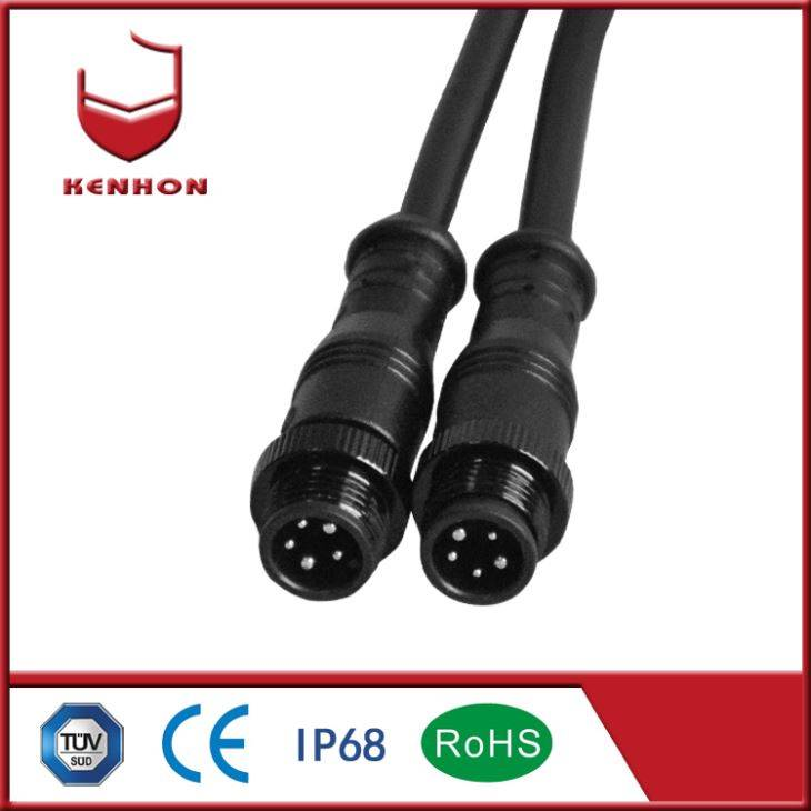 3 + 2 LED Vanntett Connector
