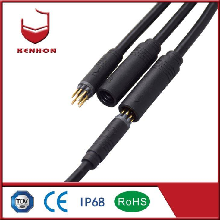 3+6 Wire Waterproof Electrical Plug Connectors
