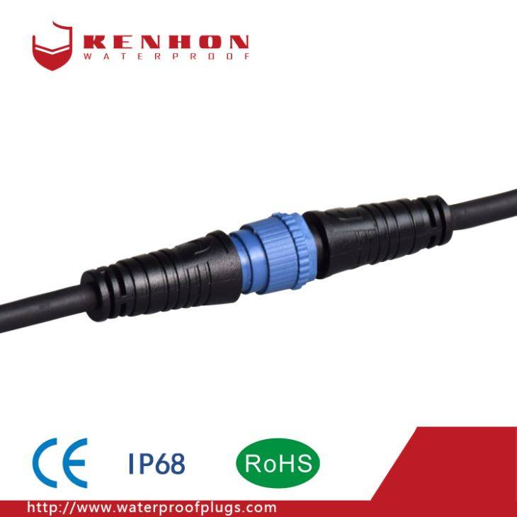 F Type IP68 Waterproof Connector Streetlight