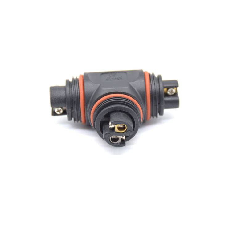 IP68 T Type Electric Cable Waterproof Connectors