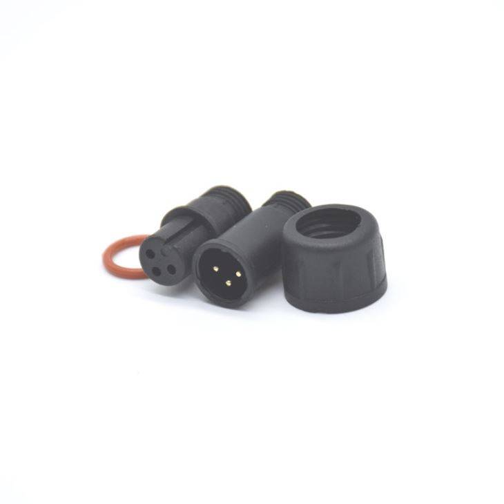 LED IP67 Waterproof Cable Connector M12