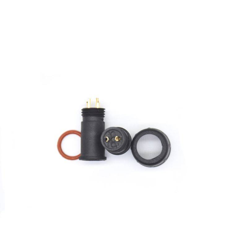 2019 High quality Waterproof Cable Connector - Male Female Electrical Wire M12 2pin Waterproof Connector For E-bike – Kenhon