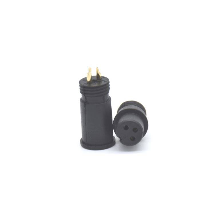 M12 3 Wire 240v Waterproof Jack Plug