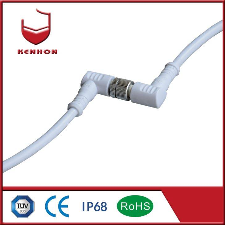 M12 IP67 AC Waterproof Cable Connector
