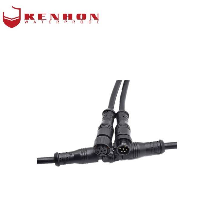 M12 Waterproof Electric IP67 Connector Factory