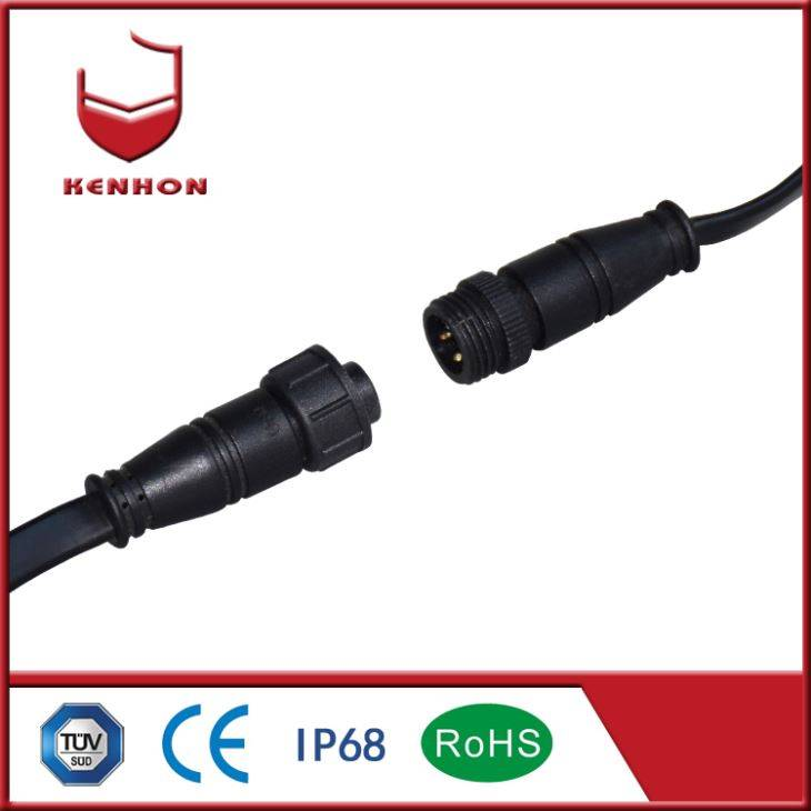 M15 IP67 Waterproof ڪيبل Connectors