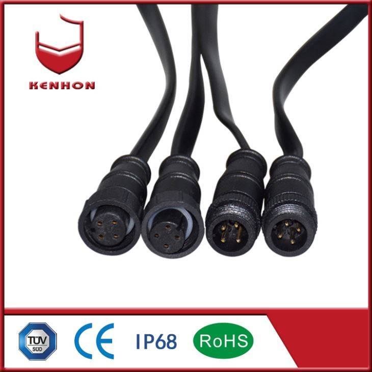 M15 IP67 Waterproof Cable Connectors