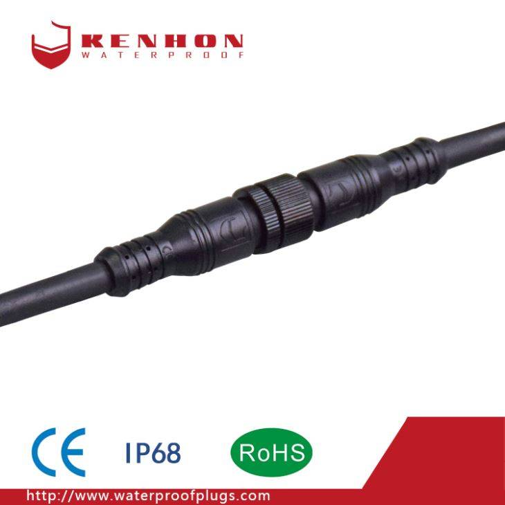 M16 2 وائر Waterproof Connectors