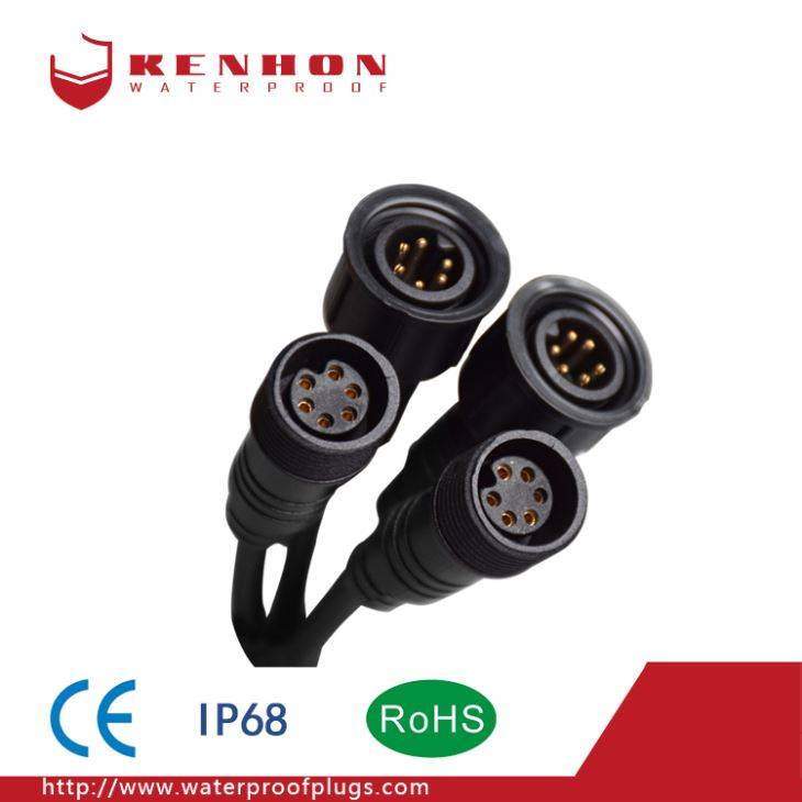 M18 IP68 Waterproof Electrical Connector
