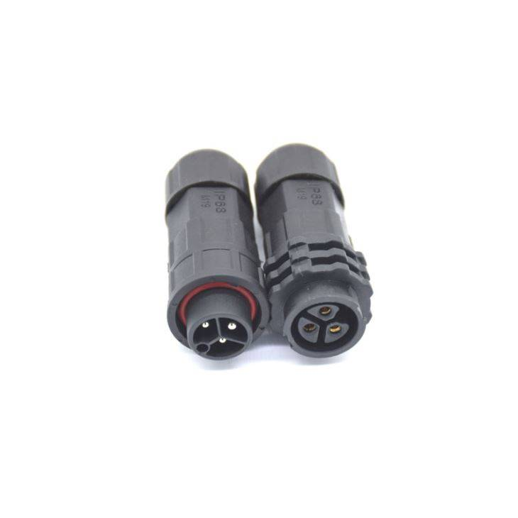 M19 3Pin Assembly Waterproof Connector