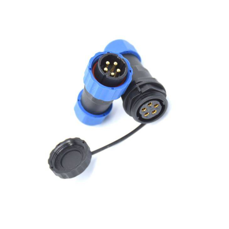M19 IP68 Waterproof Connector 5Pin