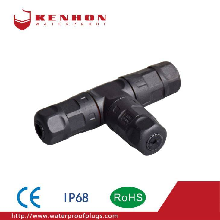 M20 Led Power Waterproof Plug