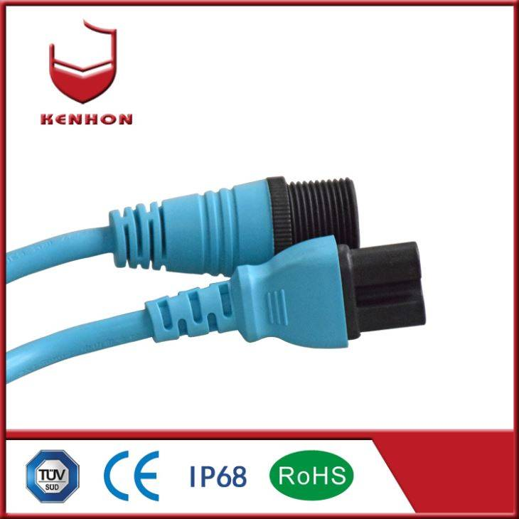 M27 IP67 Waterproof Socket dan Plug