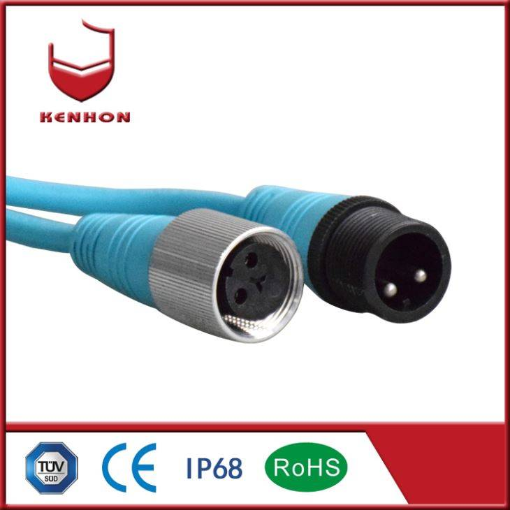 M27 IP68 Waterproof ڪيبل Connector