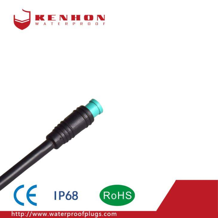 M6 Waterproof Connectors LED Ebike