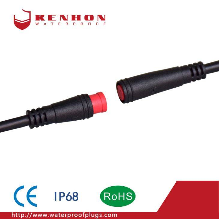 Rapid Delivery for Cable Connector Waterproof - M8 Waterproof Connectors Shared Bicycle – Kenhon