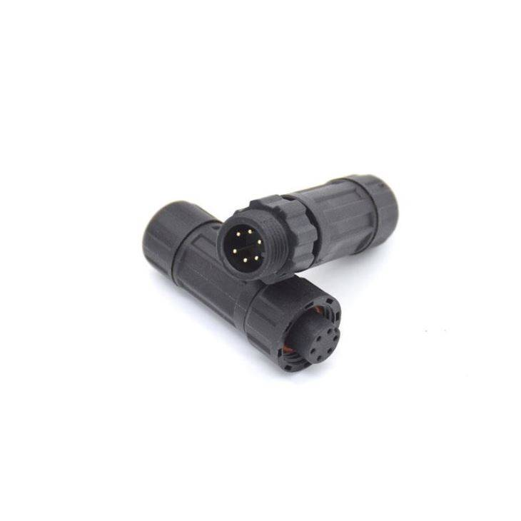 Waterproof Connector M12 Assembly 6Pin